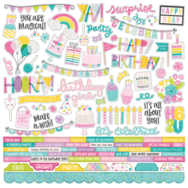 Magical Birthday Combo Stickers