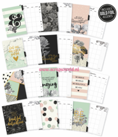 A5 Beautiful Monthly Planner inserts