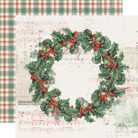 Country Christmas Christmas Magic Double Sided 12x12""