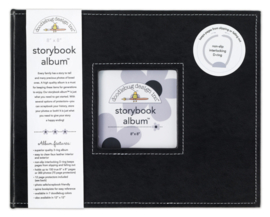 Album Storybook Beetle Black 8x8