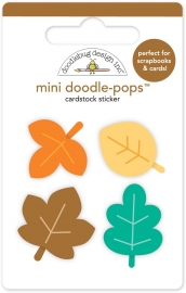Autumn Leaves Mini Doodle-pops