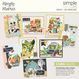 Simple Cards Card Kit - SVFG Love Grows Here