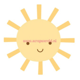 Sunshine Sweet Rolls Mini Icon Stickers