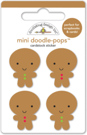 Jolly Gingerbread Mini Doodlepops