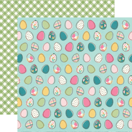 Hip Hop Hooray Egg-stra Special Double Sided 12x12""