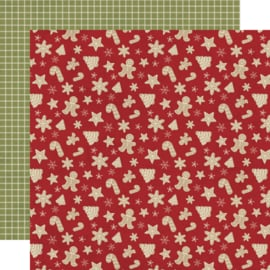 Holly Jolly Happy Holidays Double Sided 12x12""