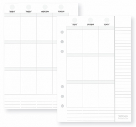 Planner Essentials Weekly Vertical Inserts
