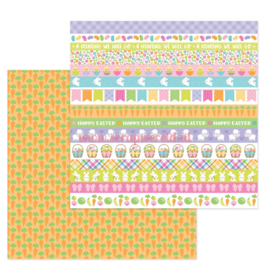 "Carrot Patch 12x12"" Double Sided Cardstock"
