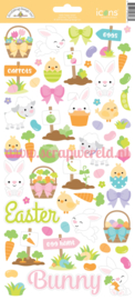 Hoppy Easter Icon Stickers