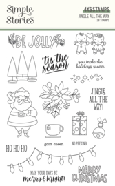 Jingle All the Way - Stamps