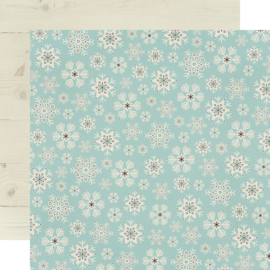 Winter Farmhouse Feelin' Frosty Double Sided 12x12""