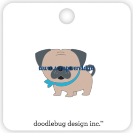 Love Pug Collectible Pin