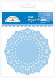 Mini Doilies Blue Jean