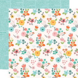 Hey, Crafty Girl DIY Queen Double Sided 12x12""