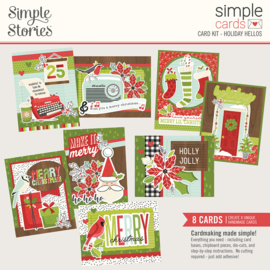 Simple Cards Card Kit - Holiday Hellos