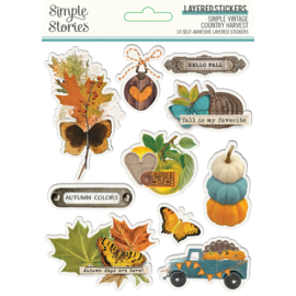 SV Country Harvest- Layered Stickers