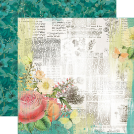 """SV Garden District Live for Today Double Sided 12x12"""""""