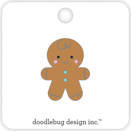 Gingerbread Man Collectible Pin