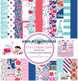French Kiss 12x12 Paperpack
