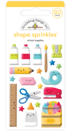 School Supplies Shape Sprinkles