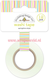 Springtime Stripe Washi Tape
