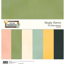 Spring Farmhouse Simple Basics Kit