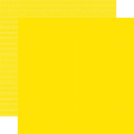 """Yellow Textured Cardstock Double Sided 12x12"""""""
