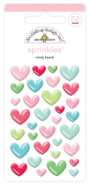 Candy Hearts Shape Sprinkles