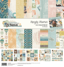 Simple Vintage Traveler Collection Kit