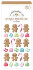 Sugarplum Shape Sprinkles