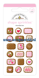 Chocolate Box Shape Sprinkles