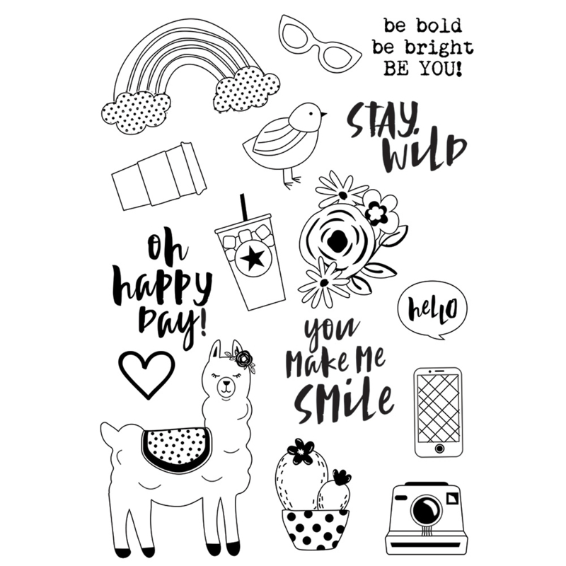 Oh, Happy Day! Be You! 4x6 Stamps
