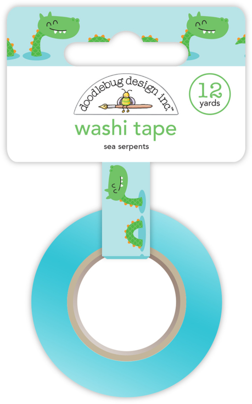 Sea Serpents Washi Tape