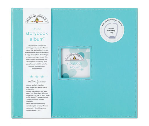 Album Storybook 12x12 Swimming Pool