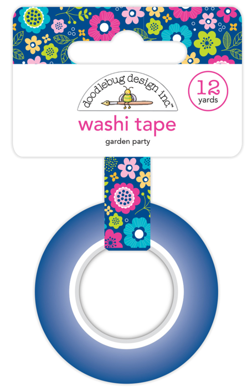 Garden Party Washi Tape
