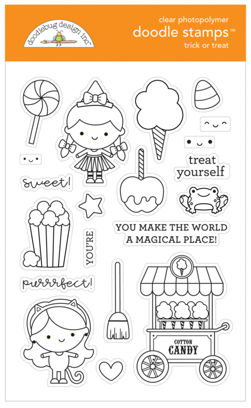 Trick or Treat Doodle Stamps