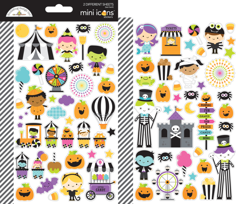 Candy Carnival Mini Icons Stickers