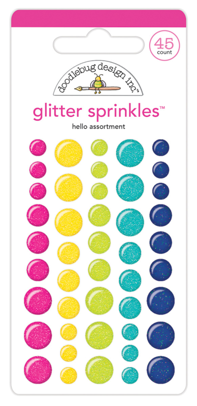 Hello Glitter Assortment Sprinkles