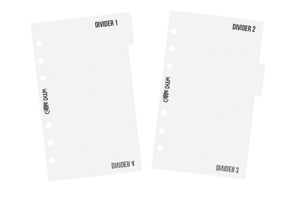 Personal Divider Templates