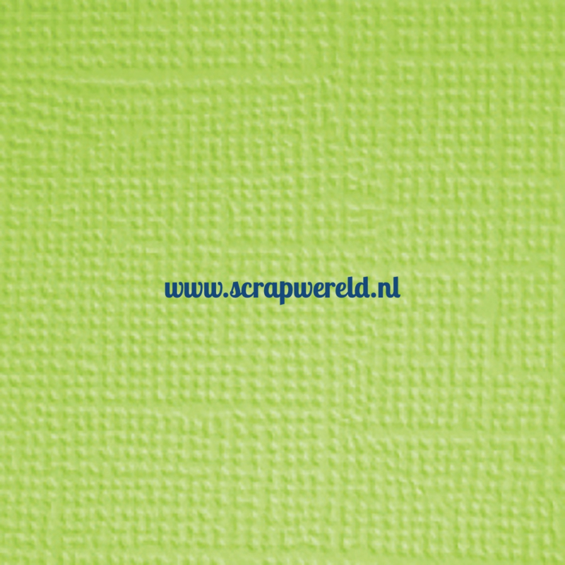 "Limeade Textured 12x12"" Cardstock"