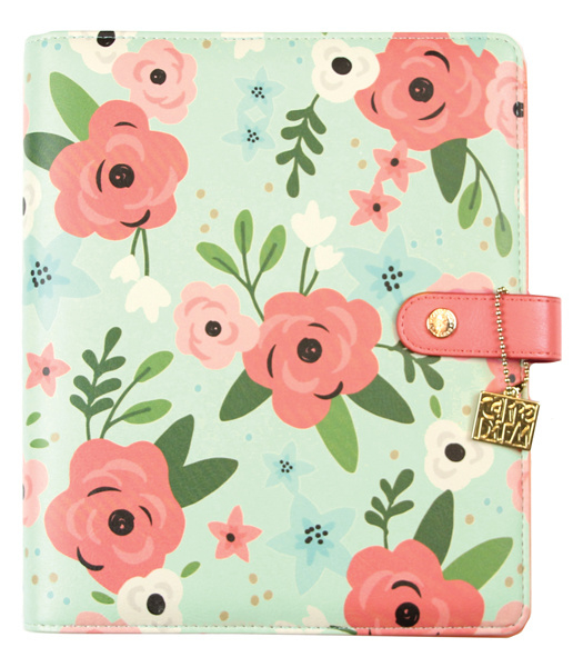 A5 Mint Blossom Planner