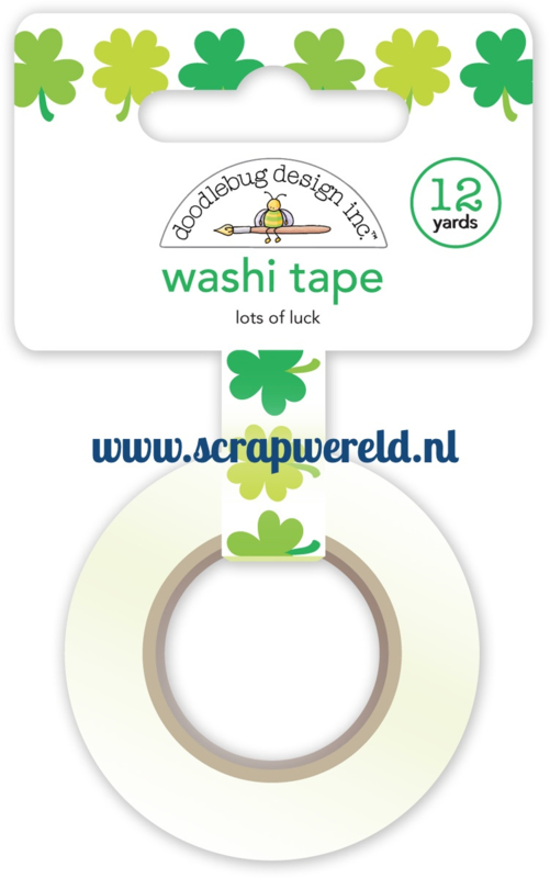 Lots of Luck Washi Tape