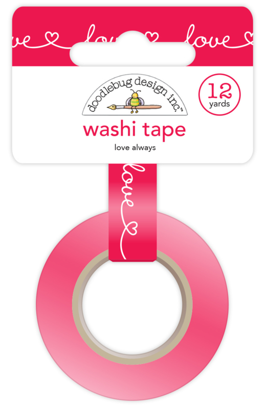 Love Always Washi Tape