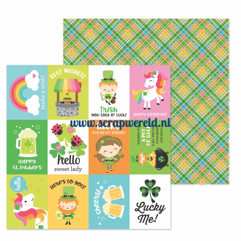 """Pot o'Gold Double Sided 12x12"""" Cardstock"""
