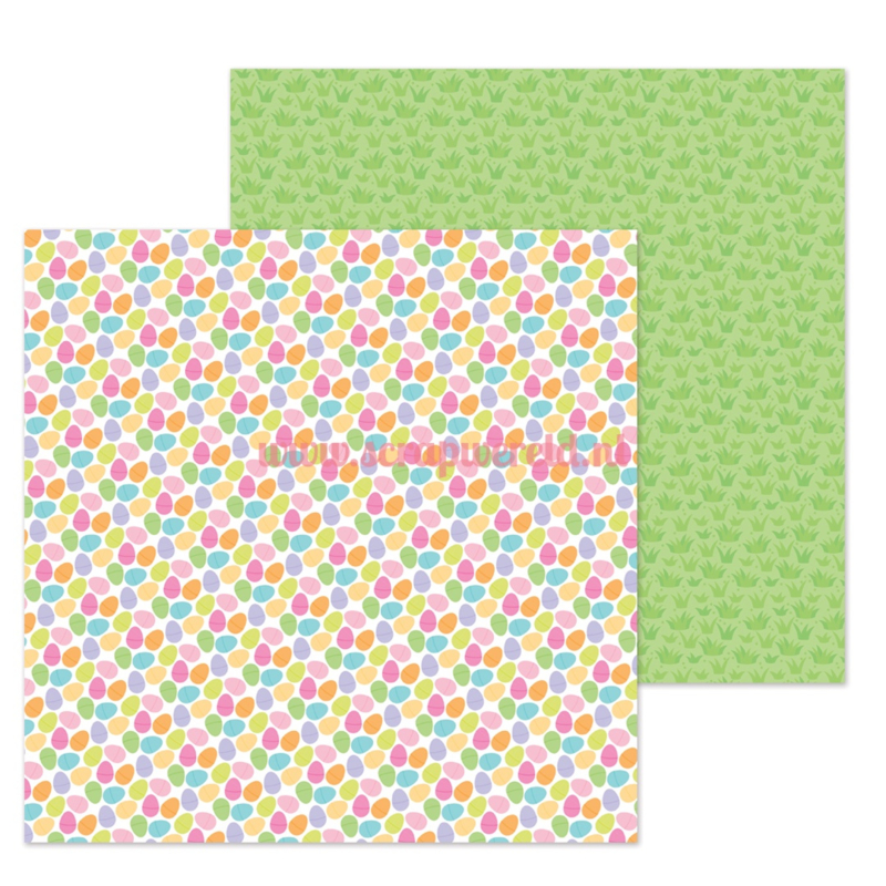 "Easter Egg Hunt 12x12"" Double Sided Cardstock"