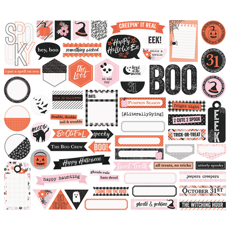 Happy Haunting Journal Bits & Pieces