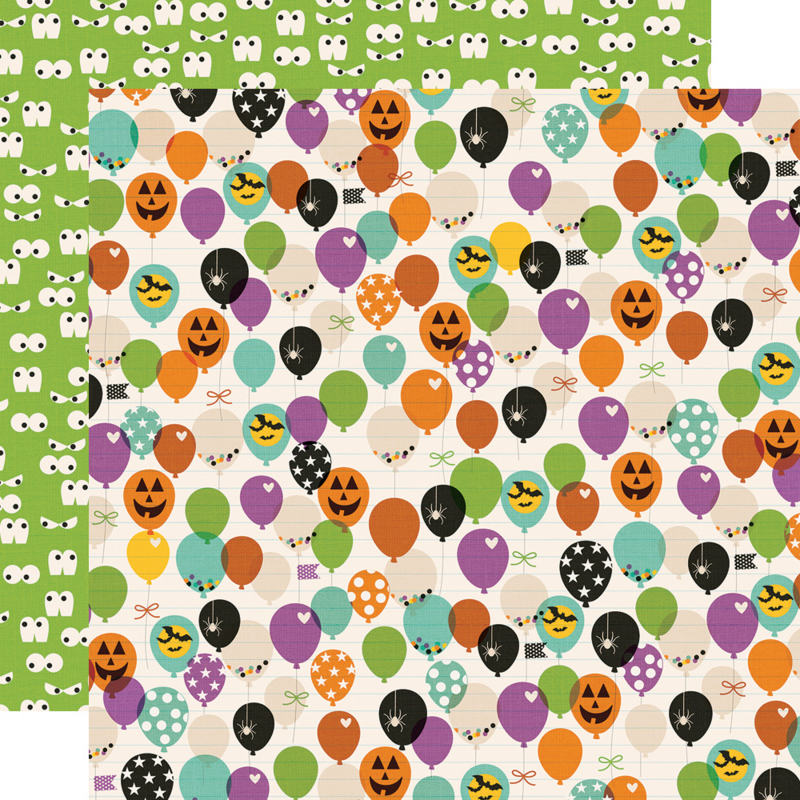 Say Cheese Halloween FaBOOlous! Double Sided 12x12""