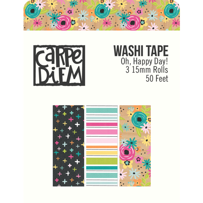Oh, Happy Day! Washi Tape