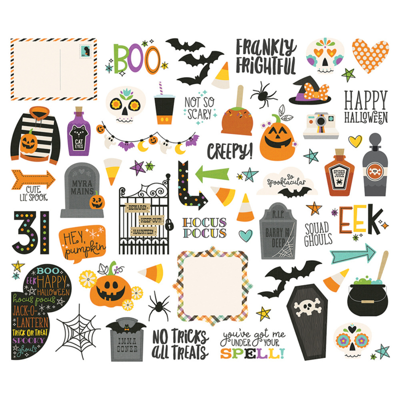 Say Cheese Halloween Bits & Pieces