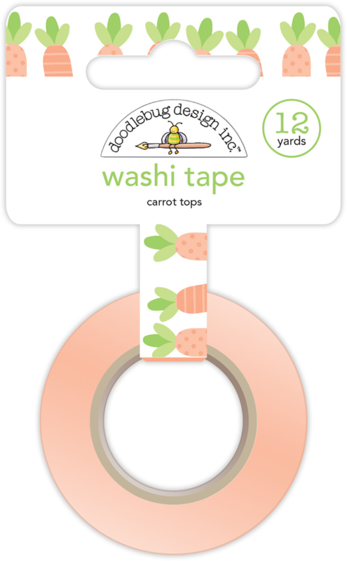 Carrot Tops Washi Tape